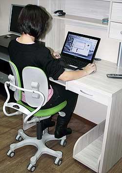 Детское ортопедическое кресло Duorest MAX