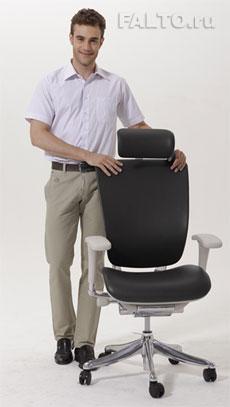 Компьютерное кресло Expert Spring Leather из натуральной кожи