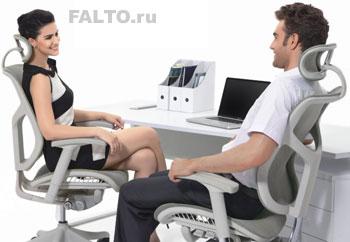 Сетчатое компьютерное кресло Expert Vista