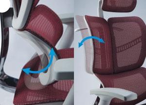 Оригинальная ортопедическая спинка кресла Expert Fly