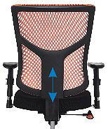 Эргономичная сетчатая спинка кресла Star Euro
