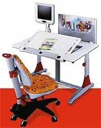 Схема сборки детского стола.