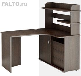 компьютерный угловой стол с надстройкой Officio 116