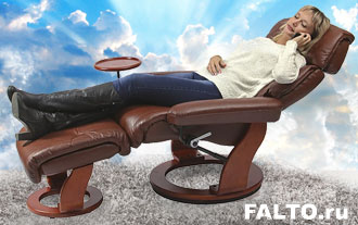 Кресло-реклайнер Relax Пиабора