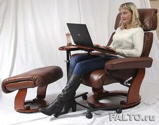 Комфорт работы в кресле реклайнере Piabora
