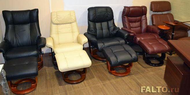 Кресла-реклайнеры серии Relax