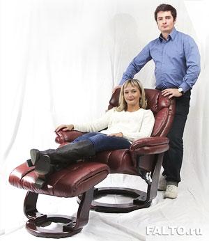 Кресло-реклайнер для дома и офиса Relax Зуэль